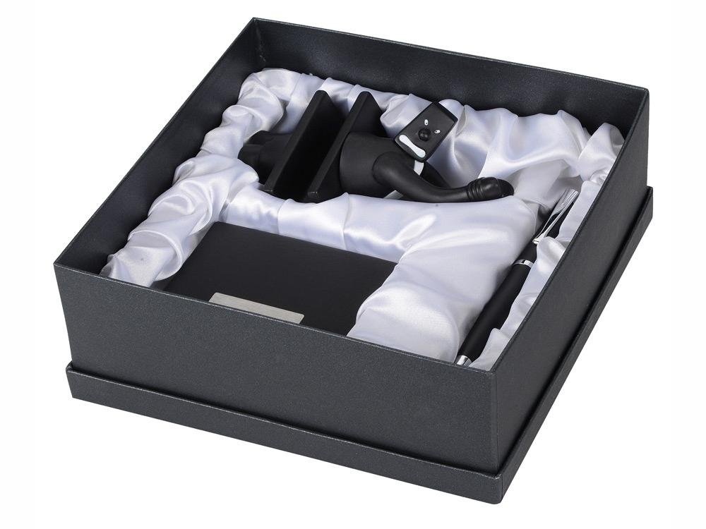 Набор: блекмэн Энди, визитница, ручка шариковая, блекмэн- прорезиненный пластик/визитница- искусственная кожа, металл, ручка- пластик - 5
