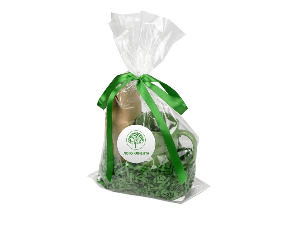 Подарочный набор «Tea Cup» с чаем, зеленый, кружка- керамика - 7
