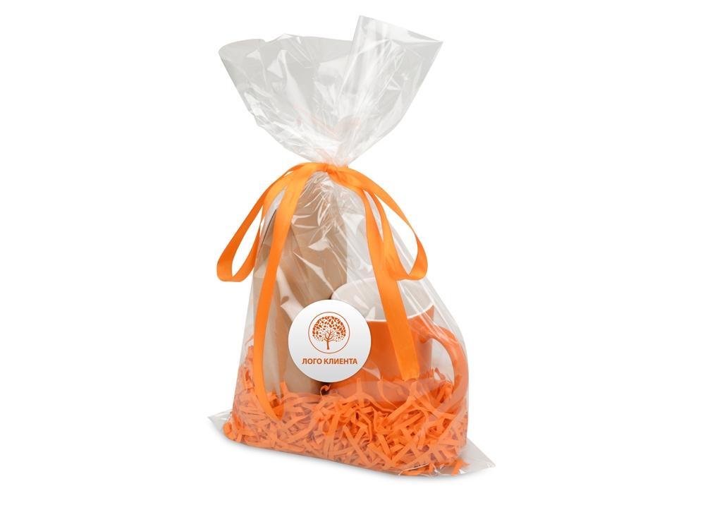 Подарочныйнабор«Mattina» с кофе, оранжевый, кружка- керамика - 7
