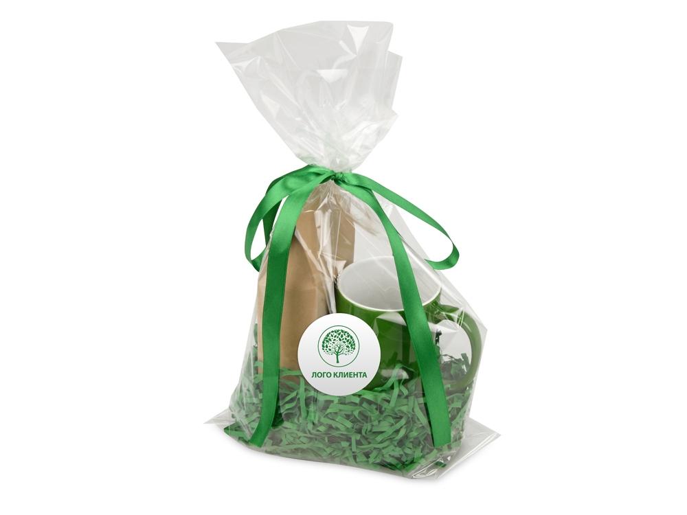 Подарочныйнабор«Mattina» с кофе, зеленый, кружка- керамика - 7