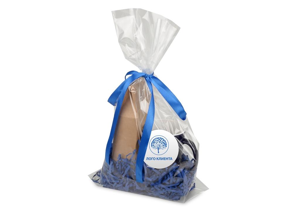 Подарочныйнабор«Mattina» с кофе, синий, кружка- керамика - 7