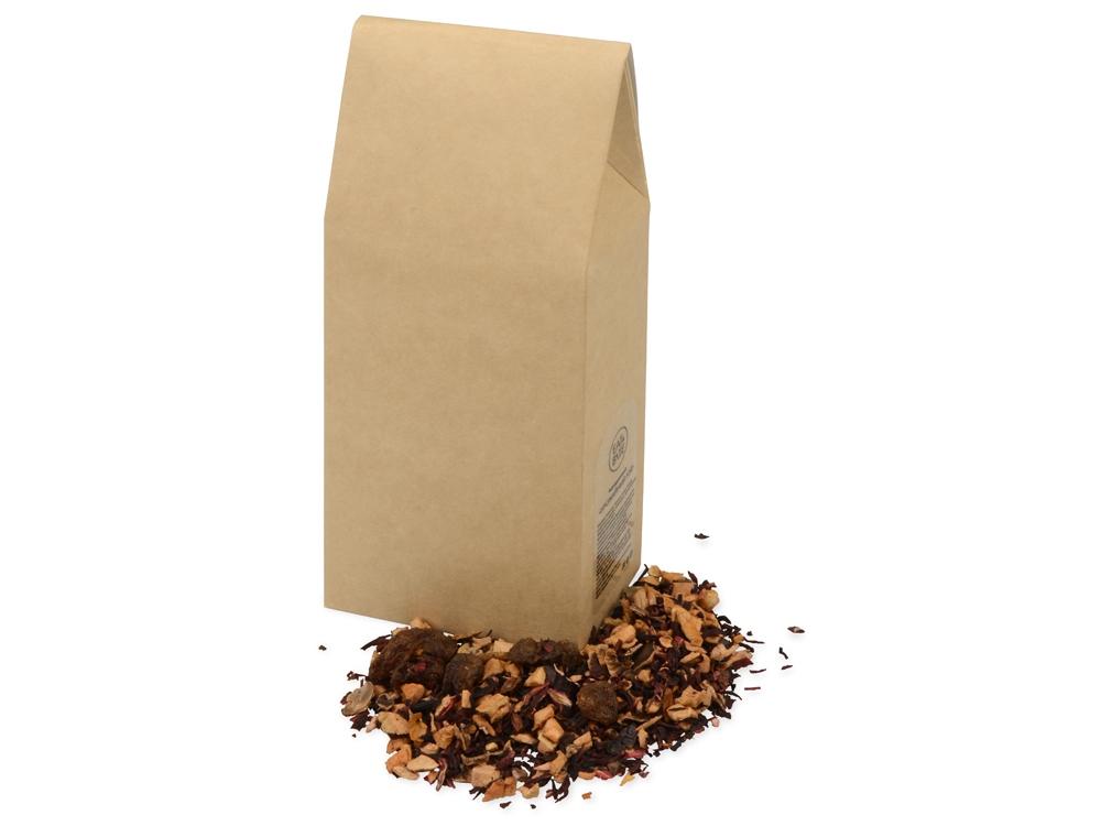 Подарочный набор «Tea Trio Superior» с тремя видами чая, оранжевый, коробка- картон, кружка- керамика - 9