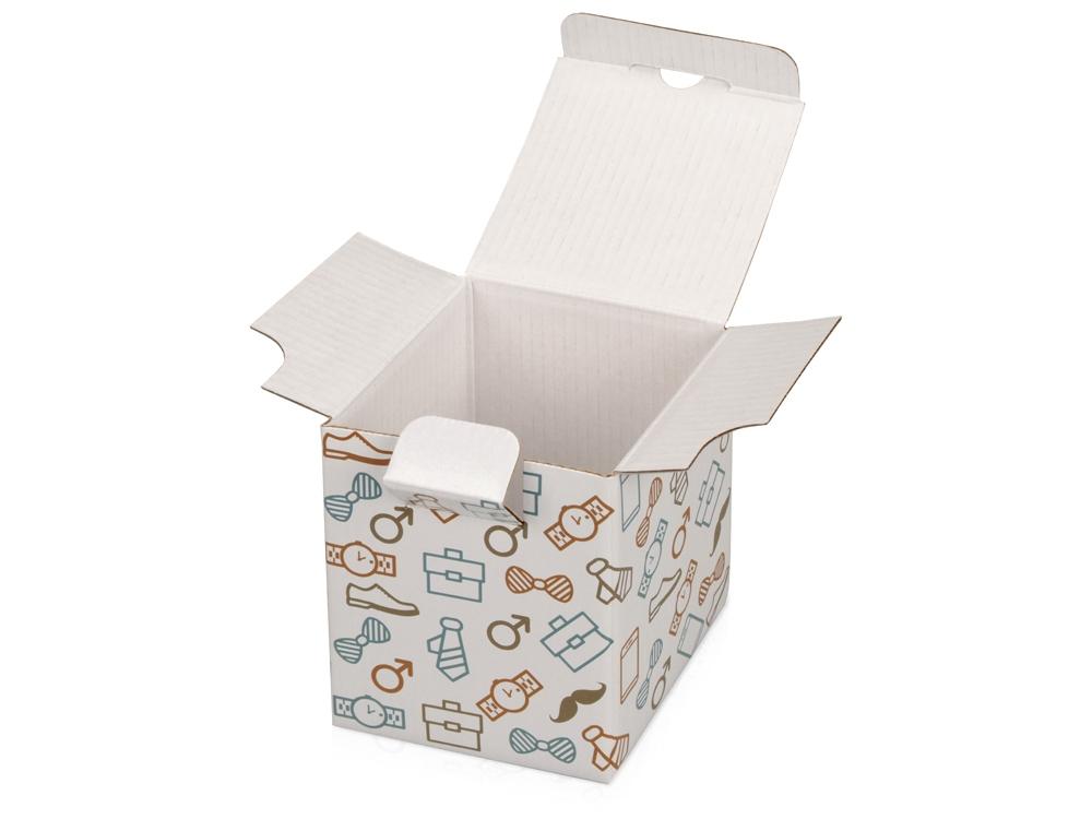 Коробка «Camo», белый, 8 х 8 х 9,8 см, картон - 1