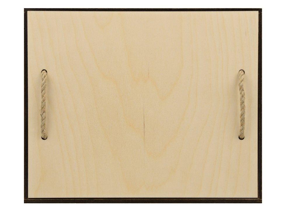Подарочная деревянная коробка «Invio», бесцветный, 29,4 х 24,4 х 11,2 см, березовая фанера толщиной 6 мм - 2