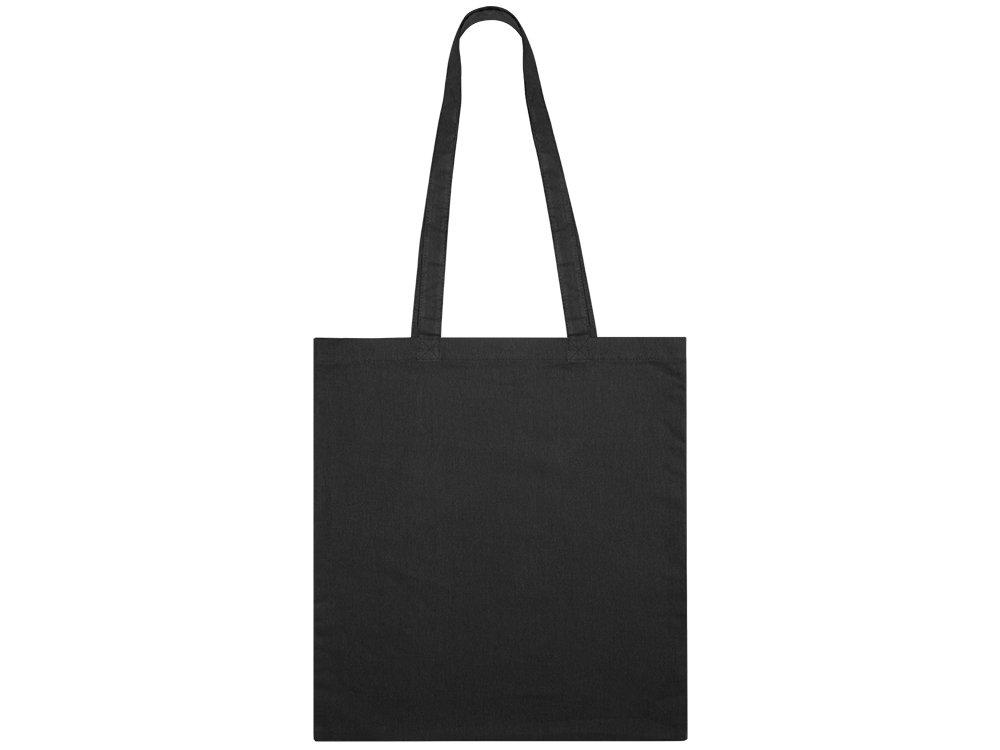 Сумка из хлопка «Carryme 105», 105 г/м2, черный, хлопок - 1