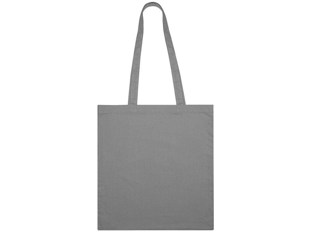 Сумка из хлопка «Carryme 105», 105 г/м2, серый, хлопок - 1