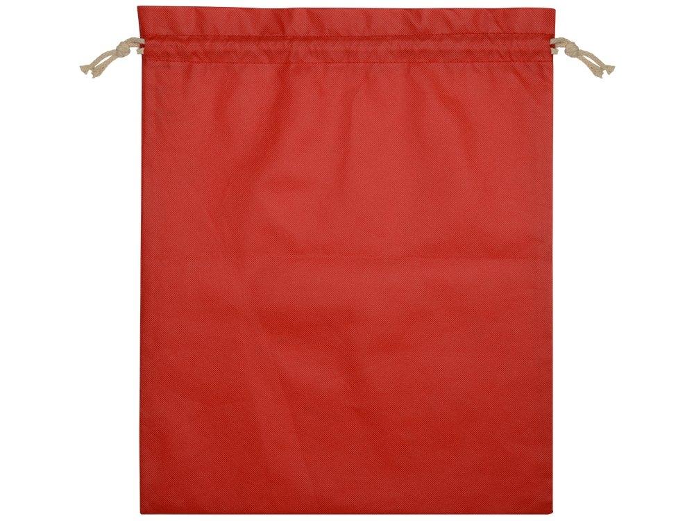Мешок «Stuff» L, красный, 39 х 49 см - 1