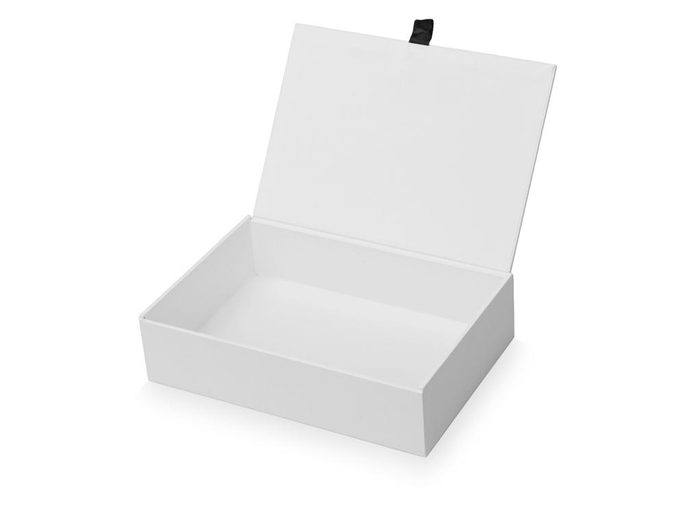 Коробка подарочная White S белая, 20,04 х 14 х 5,01 см, мдф - 1