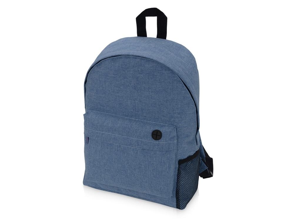 Подарочный набор Lunch с термокружкой, ланч-боксом, синий, контейнер для ланча - пластик, термокружка - нержавеющая сталь/пластик, рюкзак - полиэстер - 3