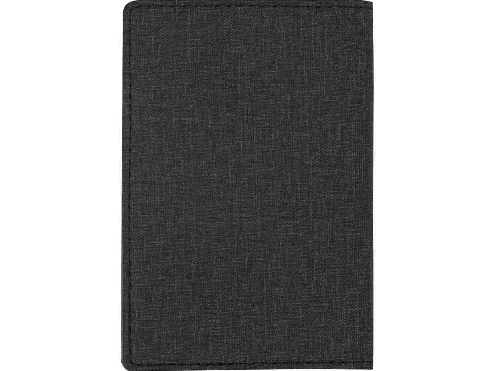 Обложка для паспорта Consul, темно-серый - 4