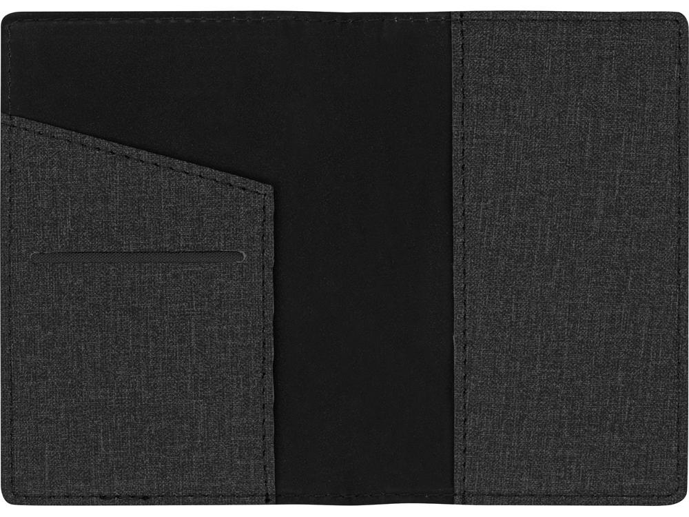 Обложка для паспорта Consul, темно-серый - 3