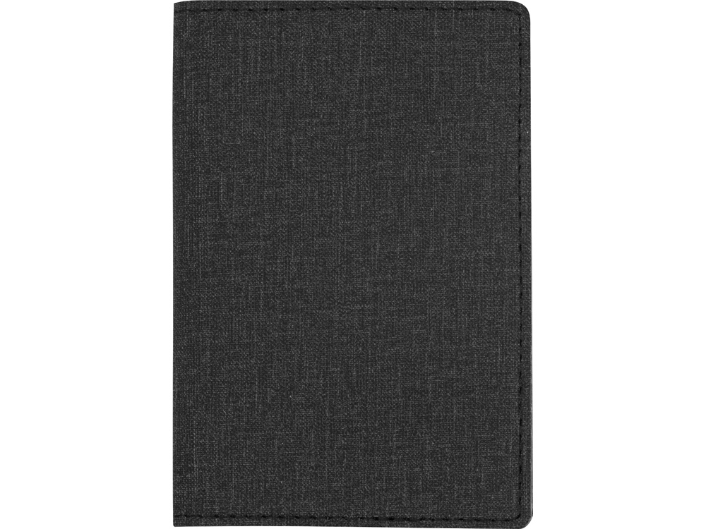 Обложка для паспорта Consul, темно-серый - 2