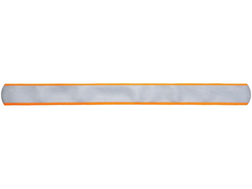 Светоотражающая слэп-лента «Felix», неоновый оранжевый, полиэстер - 1