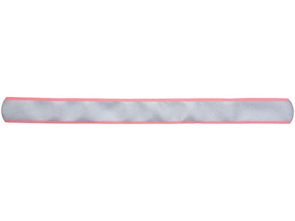 Светоотражающая слэп-лента «Felix», неоновый розовый, полиэстер - 1