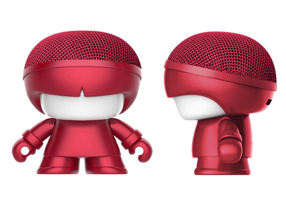 Портативная колонка Bluetooth «mini XboyMetallic», красный, АБС пластик - 1