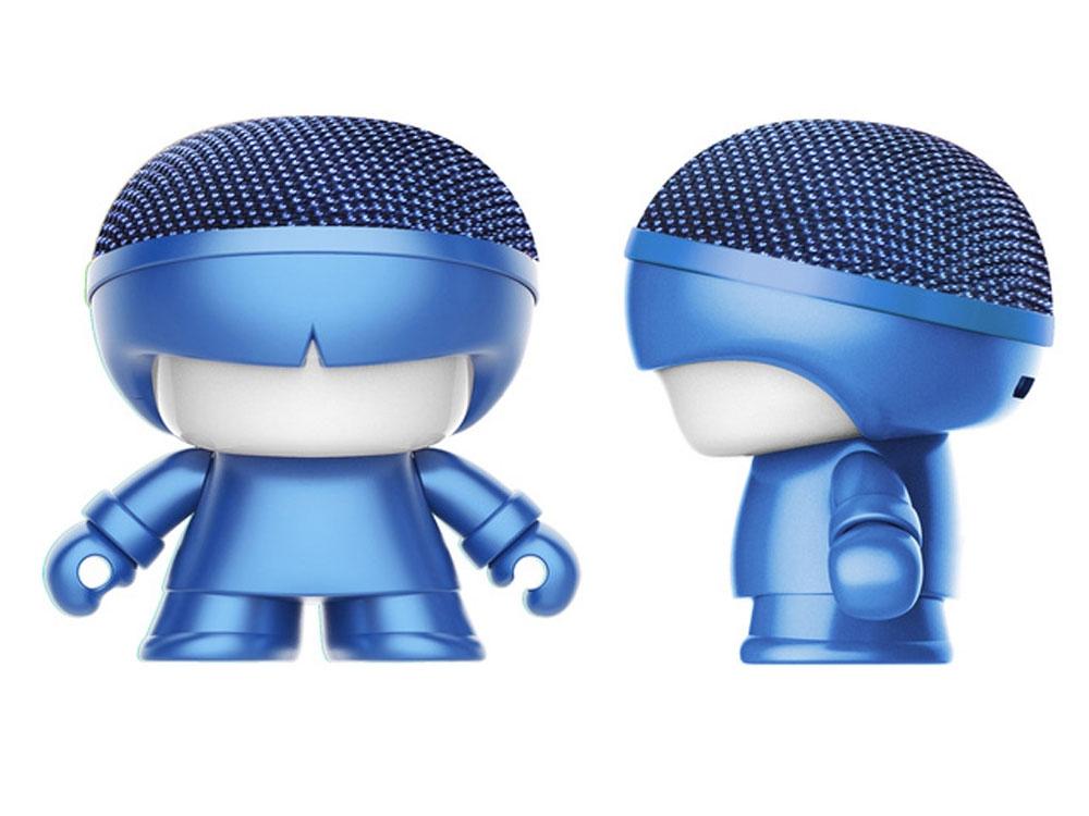 Портативная колонка Bluetooth «mini XboyMetallic», синий, АБС пластик - 1
