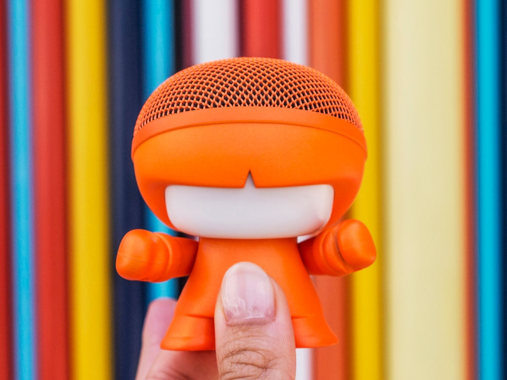 Портативная колонка Bluetooth «mini XboyMetallic», оранжевый, АБС пластик - 2