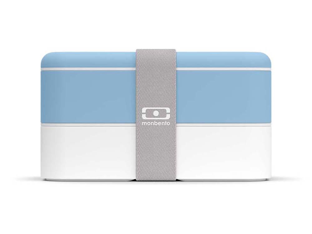 Ланч-бокс «MB Original», голубой (blue crystal)/белый, полибутилентерефталат - 1