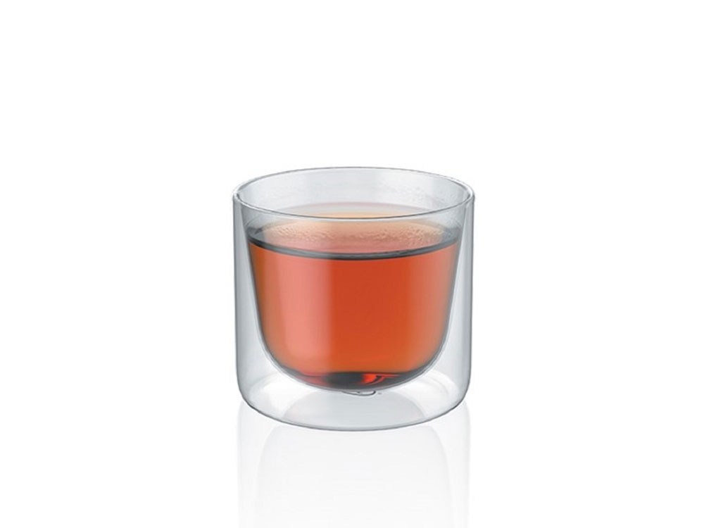 Набор стаканов из двойного стекла тм ALFI 200ml, в наборе 2 шт. - 1