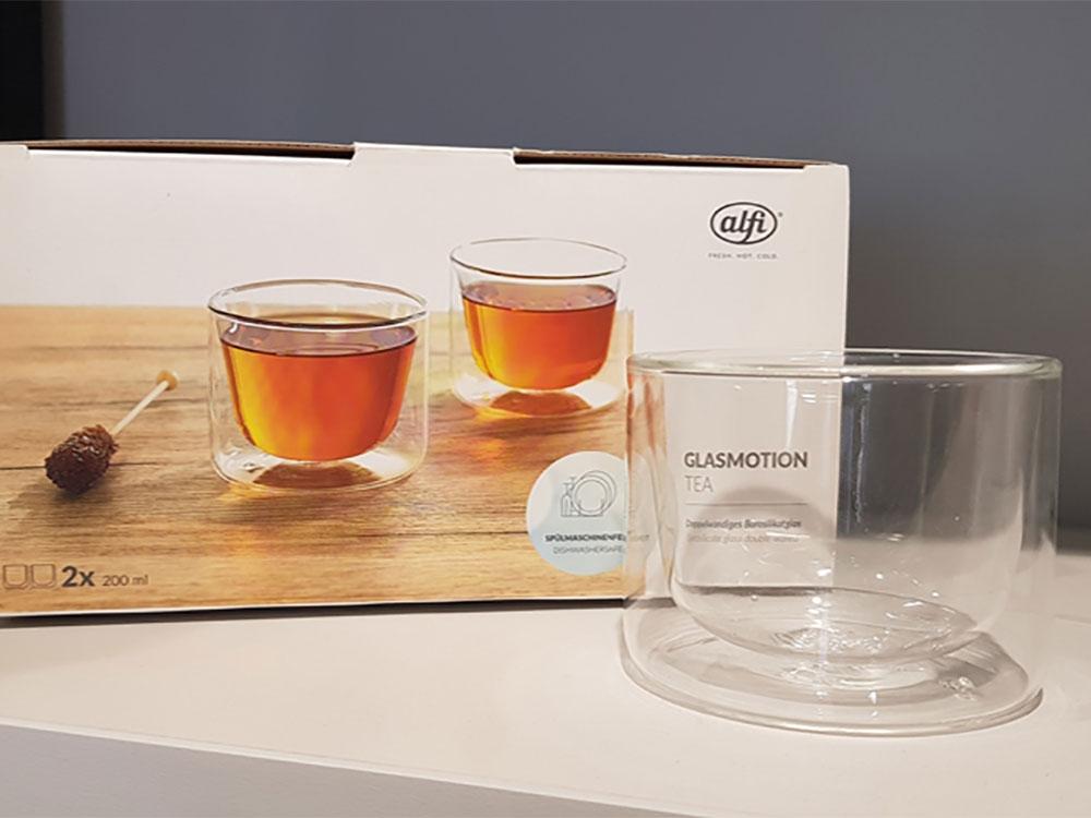 Набор стаканов из двойного стекла тм ALFI 200ml, в наборе 2 шт. - 2