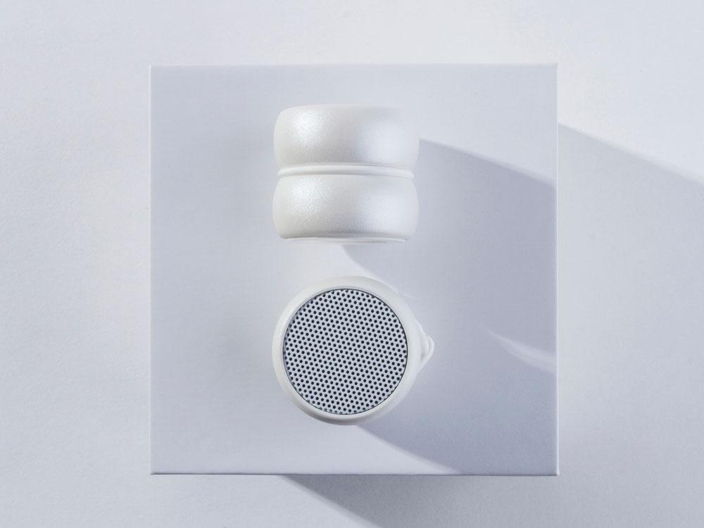 Портативные парные колонкиTWS «YoYo Stereo», белый, АБС пластик - 1