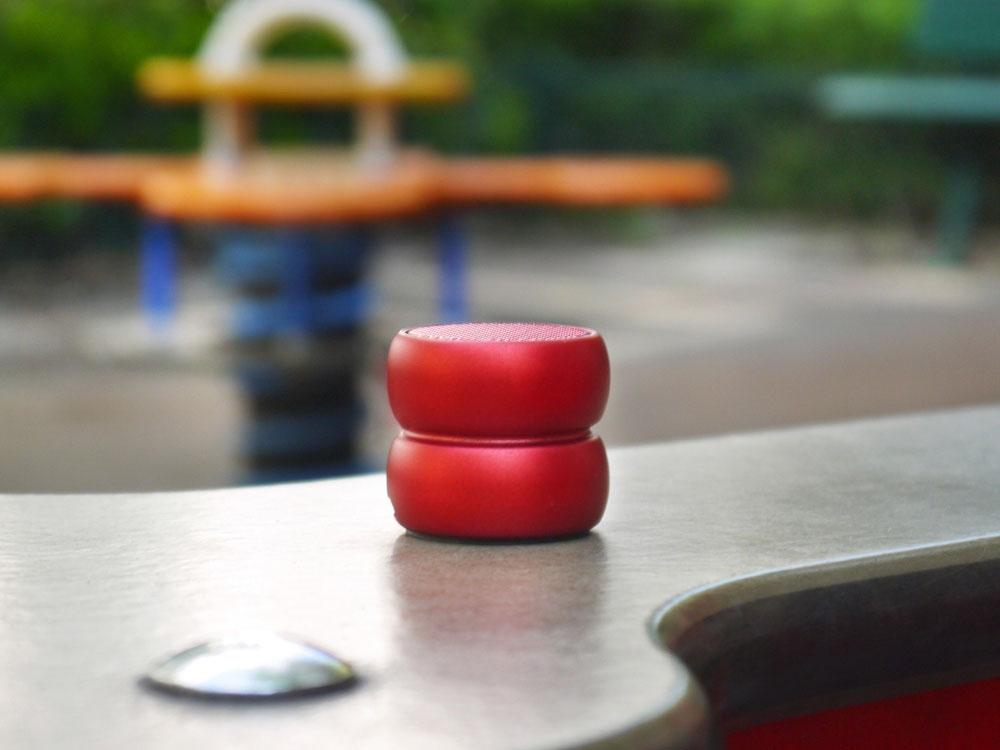 Портативные парные колонкиTWS «YoYo Stereo», красный, АБС пластик - 2