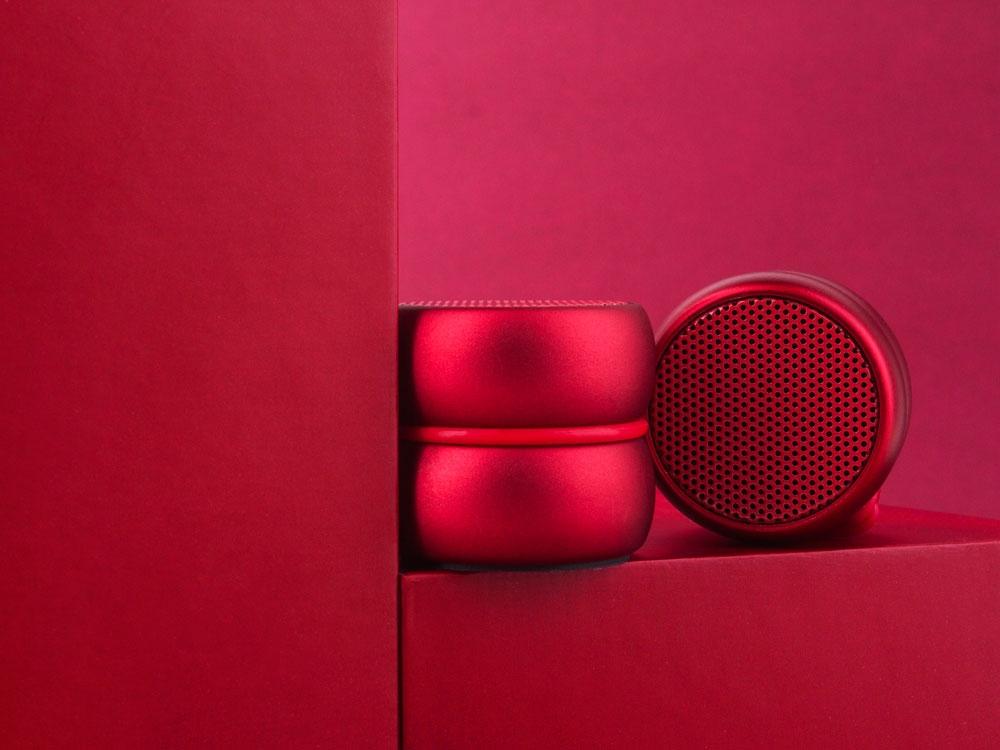 Портативные парные колонкиTWS «YoYo Stereo», красный, АБС пластик - 1