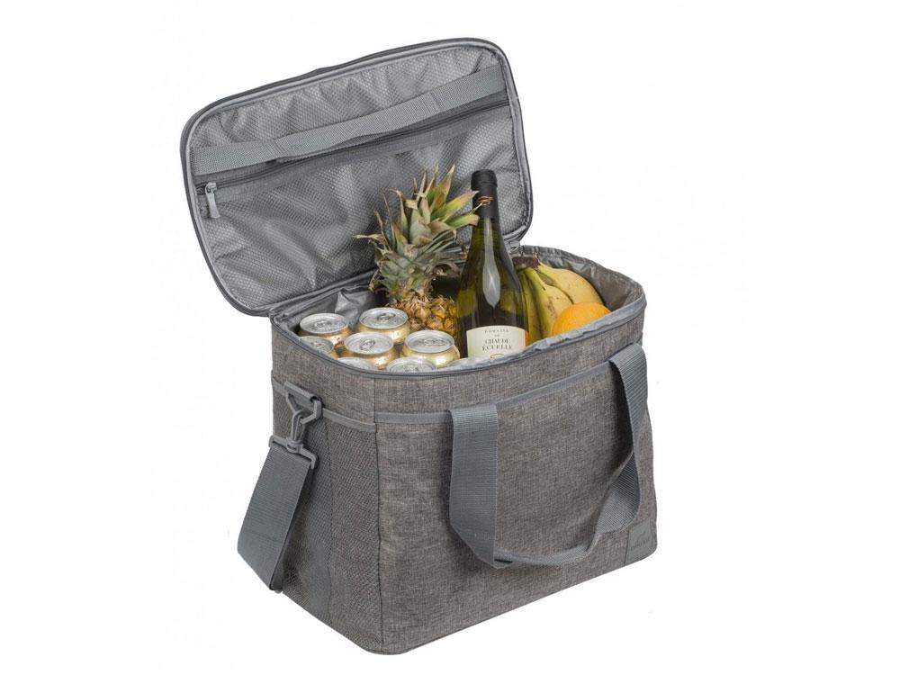 Изотермическая сумка-холодильник на 54 банки 0,33л, серый, полиэстер - 1