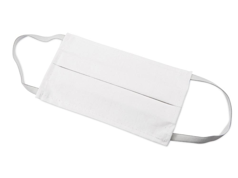 Набор средств индивидуальной защиты «Лайт», косметичка- прозрачный/черный, маска- белый, косметичка- ПВХ, маска- 100% хлопок - 2