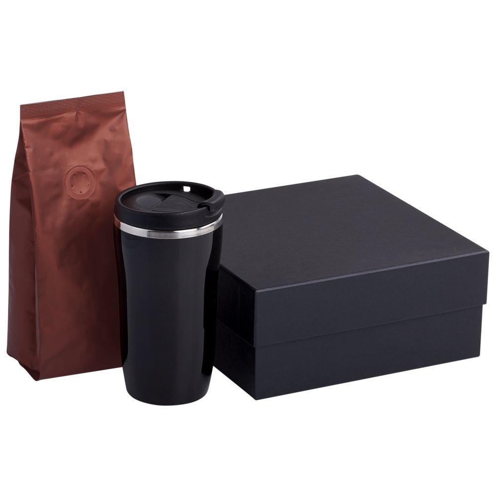 Набор Grain: термостакан и кофе, коричневый - 1