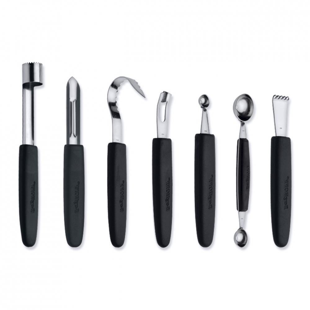 Набор 8пр ножей для фигурной вырезки в складной сумке - 2