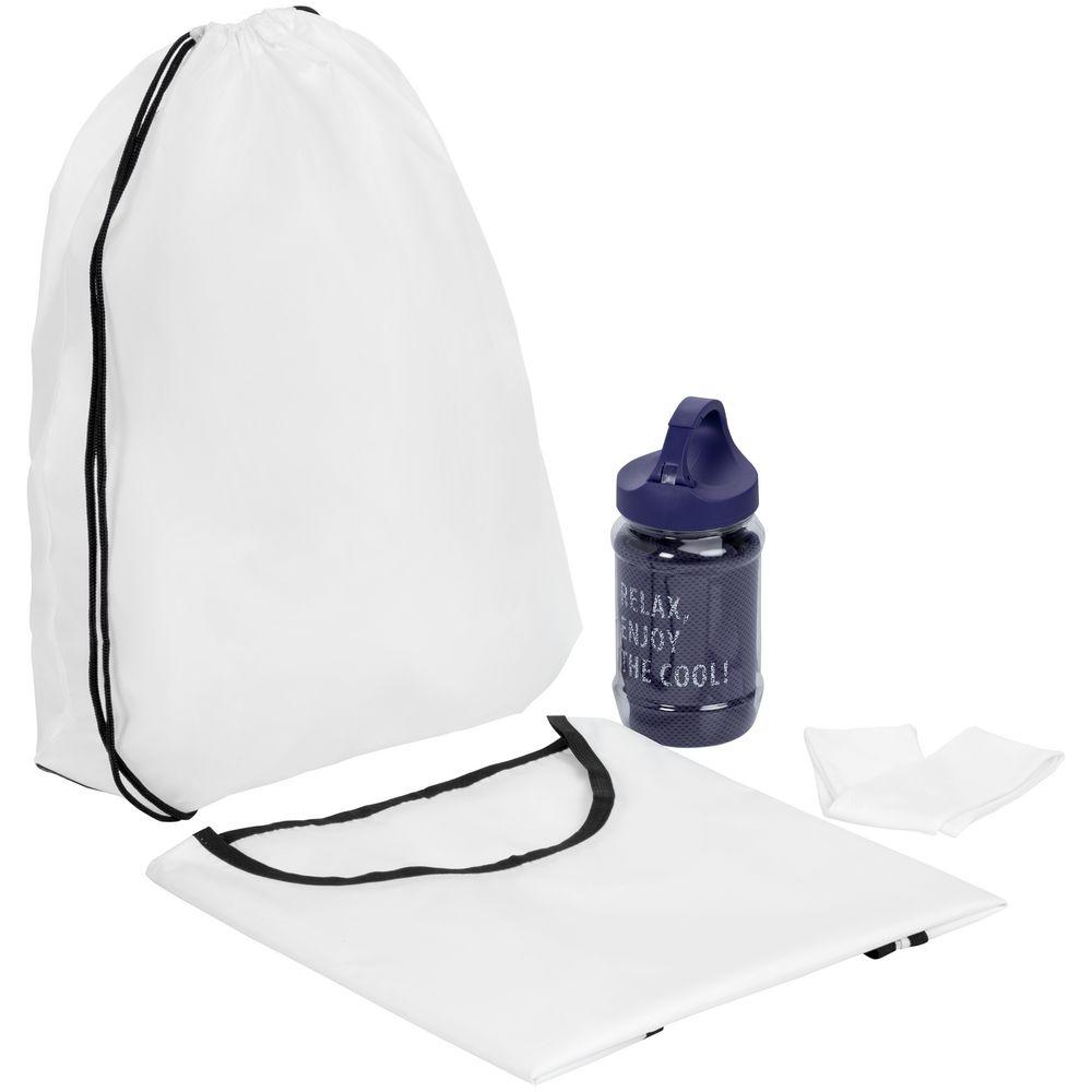 Набор для фитнеса Cool Fit, с фиолетовым полотенцем - 2