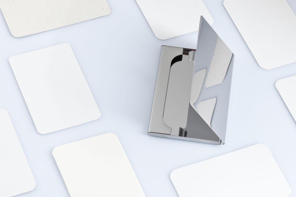 Футляр для визиток Steel - 3