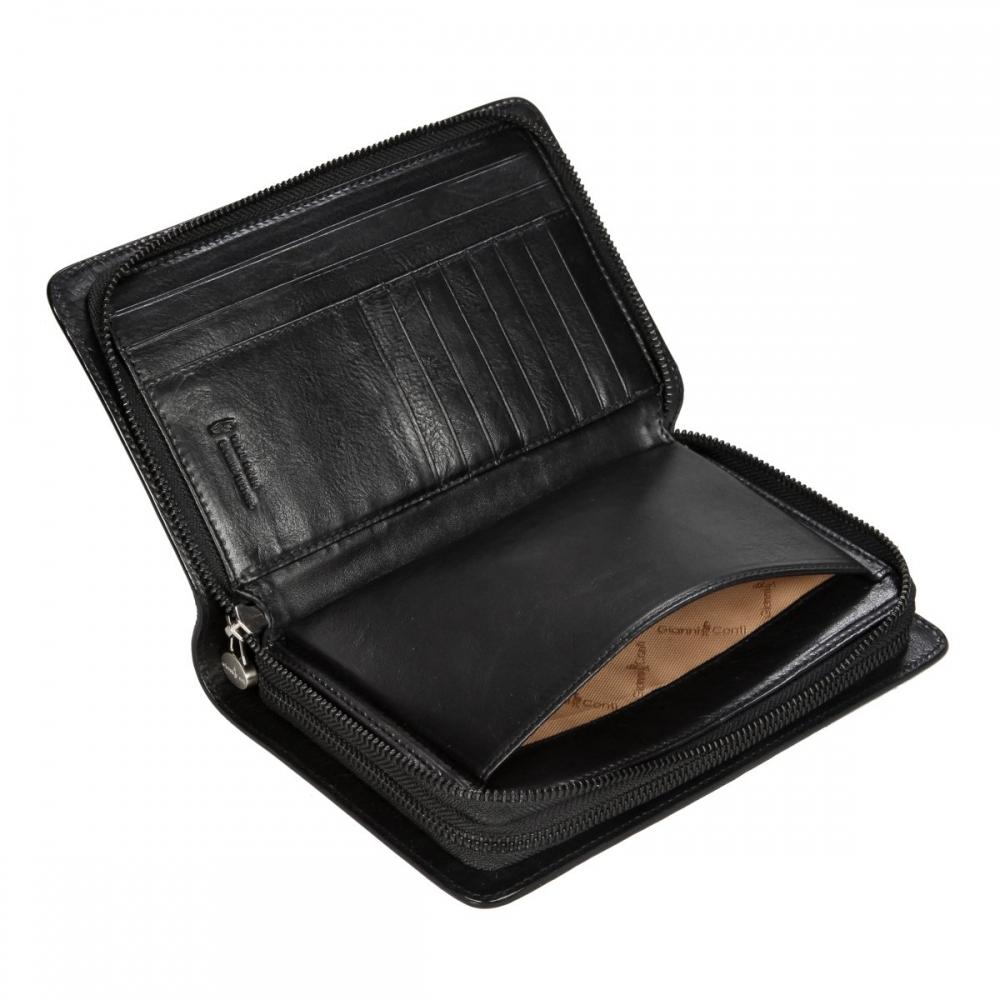 Клатч мужской Gianni Conti, натуральная кожа, черный 915724 black - 4