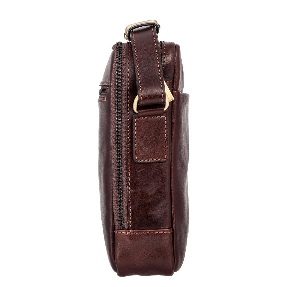 Сумка-планшет Gianni Conti, натуральная кожа, коричневый 9402312 brown - 1