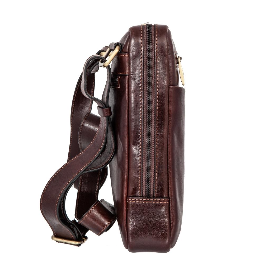 Сумка-планшет Gianni Conti, натуральная кожа, коричневый 9402349 brown - 1