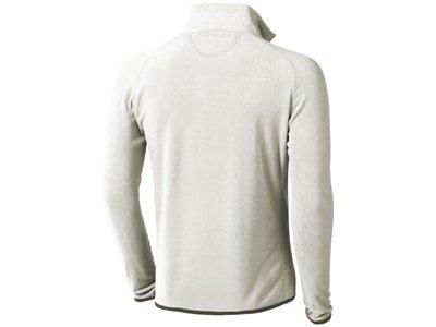 """Куртка флисовая """"Brossard"""" мужская, светло-серый - 8"""