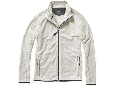 """Куртка флисовая """"Brossard"""" мужская, светло-серый - 2"""