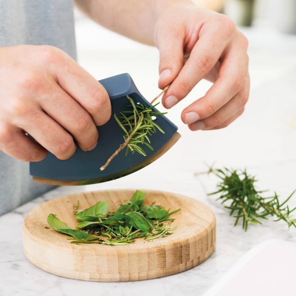 Нож для зелени 8см и досочка Leo - 1