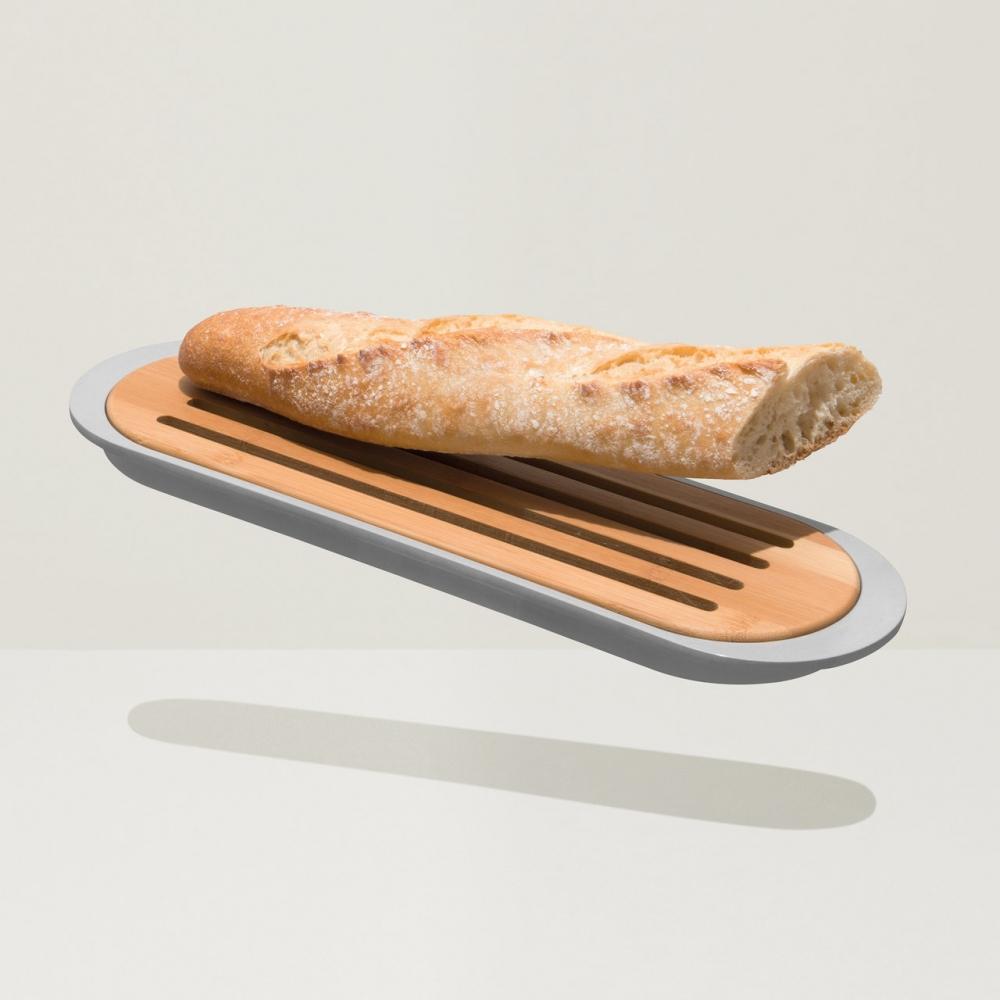 Набор 2пр с доской для хлеба и подносом 37*11*2см Leo - 3