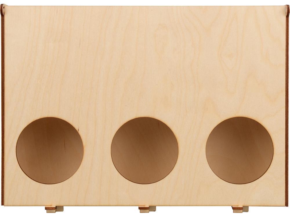 Подарочная деревянная коробка «Лист», 30 х 21 х 7,5 см, березовая фанера - 3