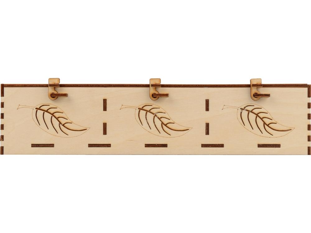 Подарочная деревянная коробка «Лист», 30 х 21 х 7,5 см, березовая фанера - 2