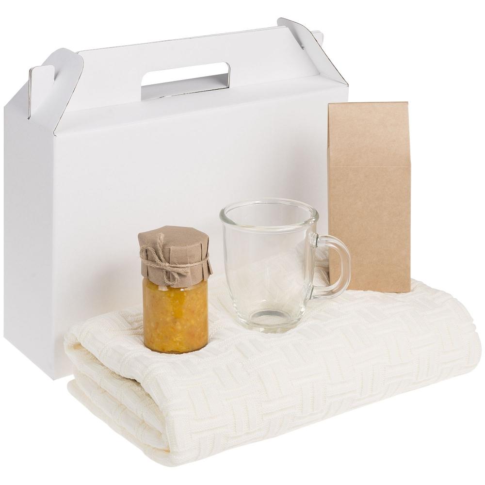 Коробка In Case L, белый, самосборная, 35,7х10,2х30 см, микрогофрокартон - 4