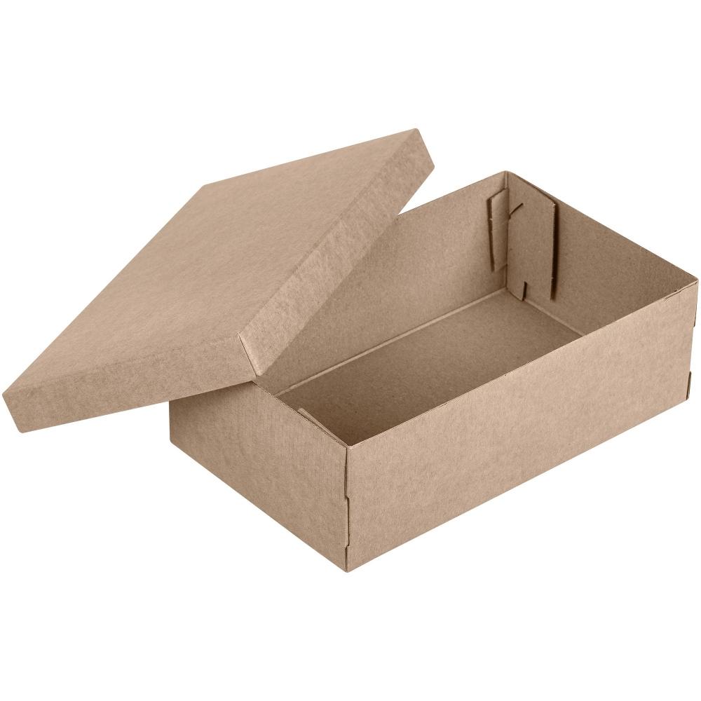 Коробка Common, M крафт, самосборная, 29х18х9,5 см, микрогофрокартон - 1