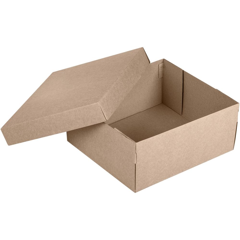 Коробка Common, XL крафт, самосборная, 33х29,3х14,5 см, микрогофрокартон - 2