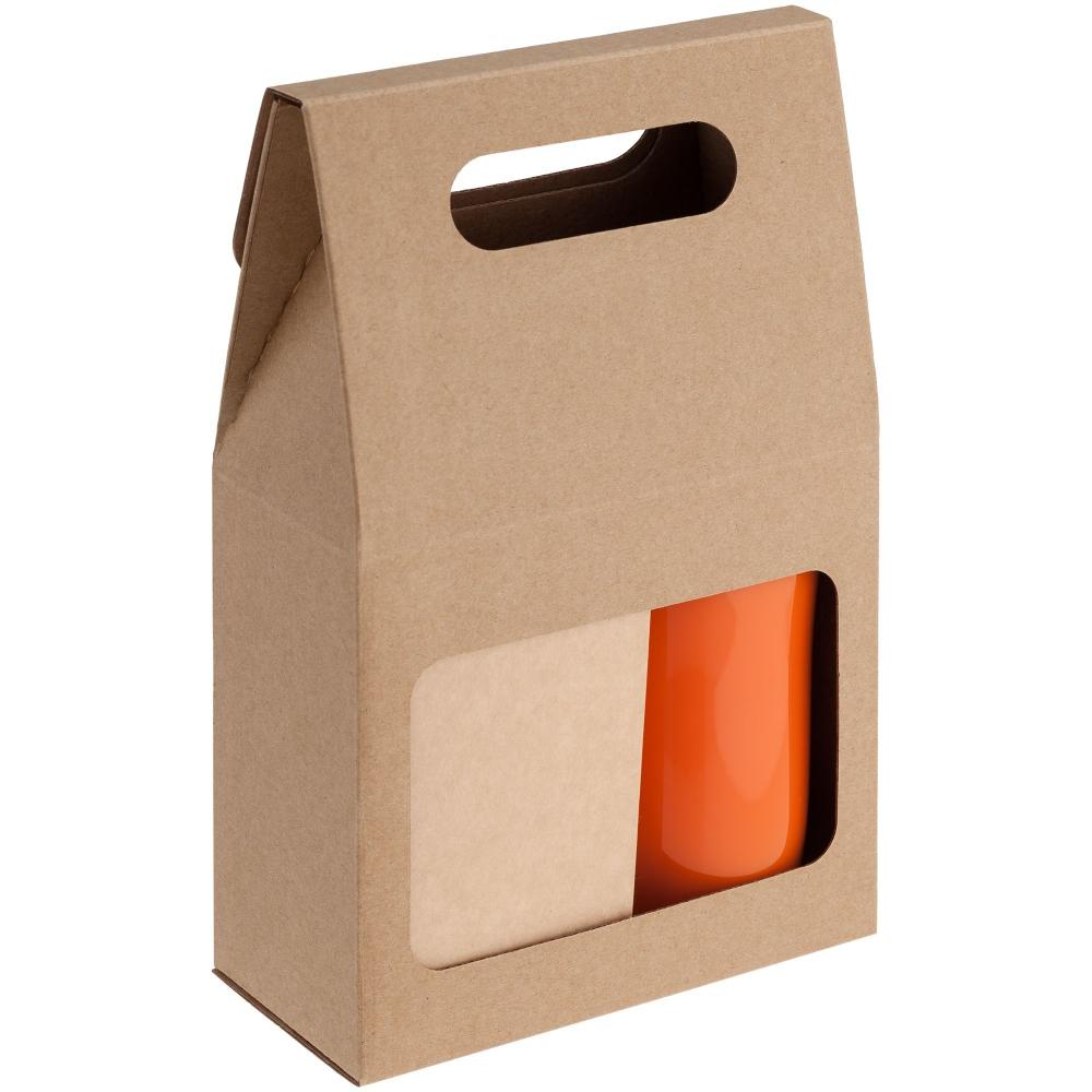 Коробка Behold крафт, самосборная, 16,2х25,5х7,8 см, микрогофрокартон - 4