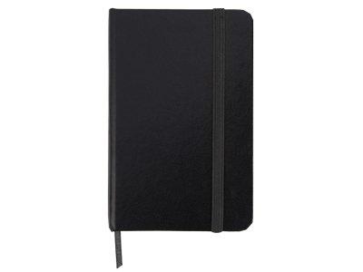 Блокнот А6 «Имлес», черный, картон, покрытый бумагой под искусственную кожу - 2