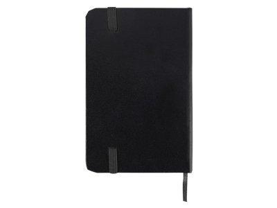 Блокнот А6 «Имлес», черный, картон, покрытый бумагой под искусственную кожу - 3