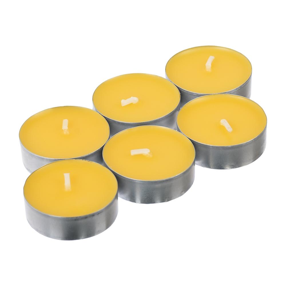 Свечи чайные от КОМАРОВ, c ароматом цитронеллы, 6 шт. в уп. - 2