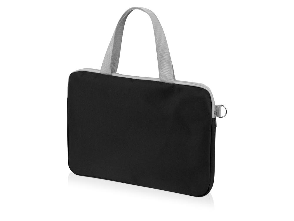 Конференц сумка для документов «Event», черный, полиэстер 600D - 1